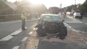Tragiczny wypadek w Łódzkiem. Zginęli dwaj motocykliści
