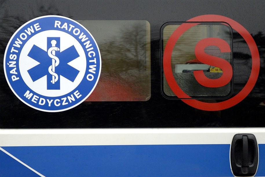 Tragiczny wypadek w Mchowie /Darek Delmanowicz /PAP