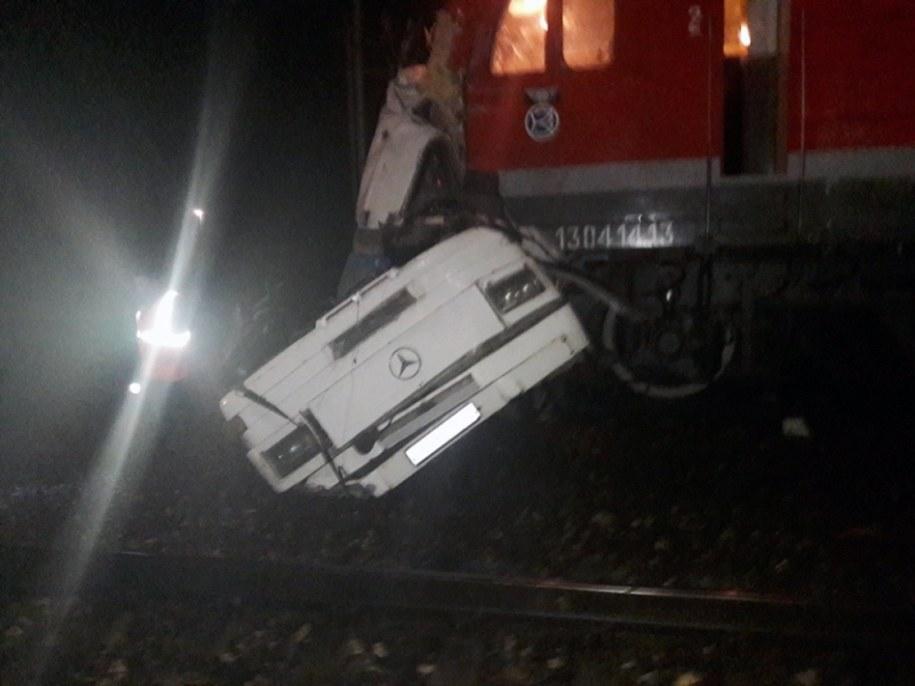 Tragiczny wypadek w mieście Pokrow /RUSSIAN EMERGENCIES MINISTRY HANDOUT HANDOUT /PAP/EPA