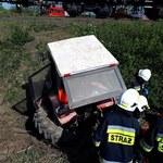 Tragiczny wypadek w Opolskiem. Traktorzysta wjechał pod pociąg