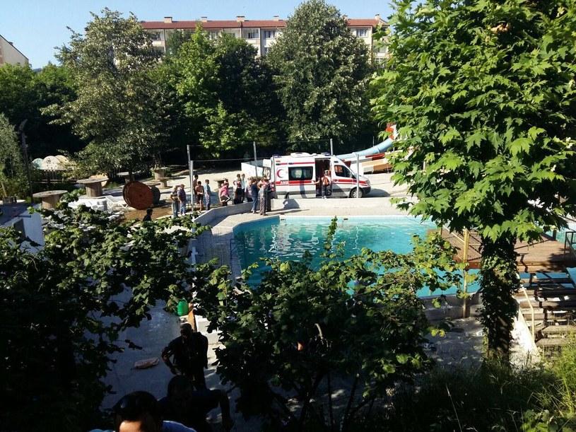 Tragiczny wypadek w parku wodnym w Turcji /ABDULKERIM CALISKAN  /PAP/EPA