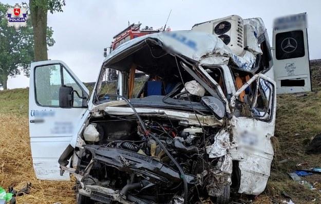Tragiczny wypadek w pobliżu miejscowości Bezek Kolonia /Policja