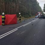 Tragiczny wypadek w Wielkopolsce. Trasa Jarocin - Konin zablokowana