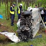 Tragiczny wypadek w Wielkopolsce. W czołowym zderzeniu zginął 43-letni kierowca