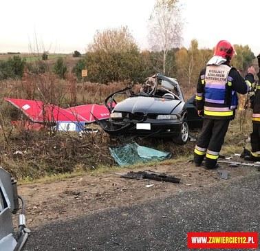 Tragiczny wypadek w Zawierciu. Zginęło trzech 19-latków