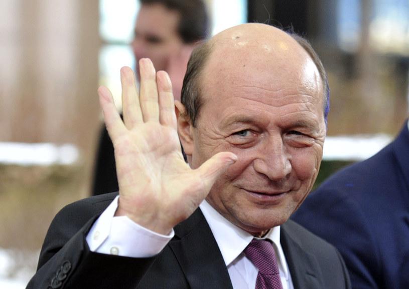 Traian Basescu /AFP