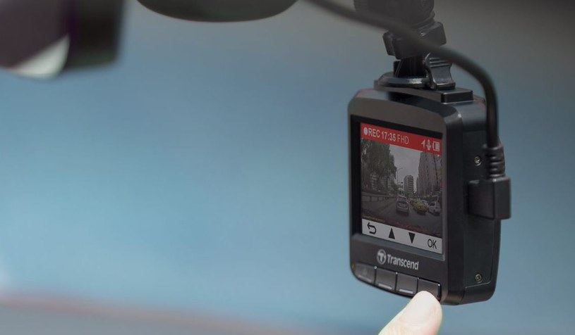 Transcend DrivePro 230 /materiały prasowe