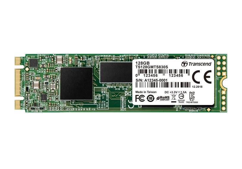 Transcend M.2 SSD 830S /materiały prasowe