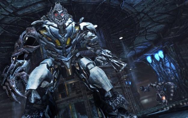 Transformers: Dark of the Moon - motyw z gry /Informacja prasowa