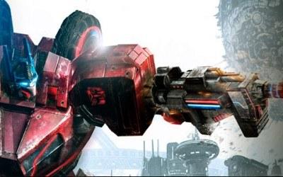 Transformers: War for Cybertron - motyw graficzny /Informacja prasowa