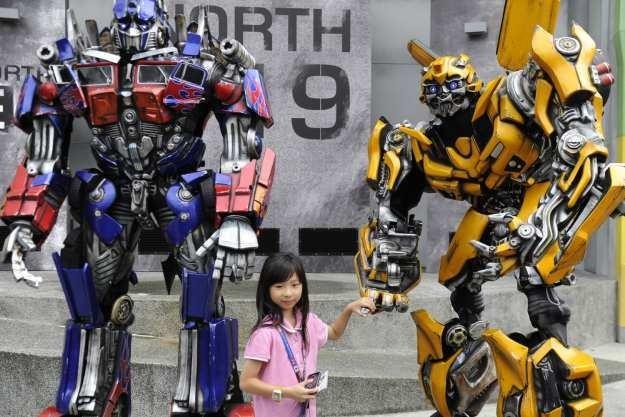 Transformery przestają być wyłącznie gadżetami z filmów  i komiksów /AFP