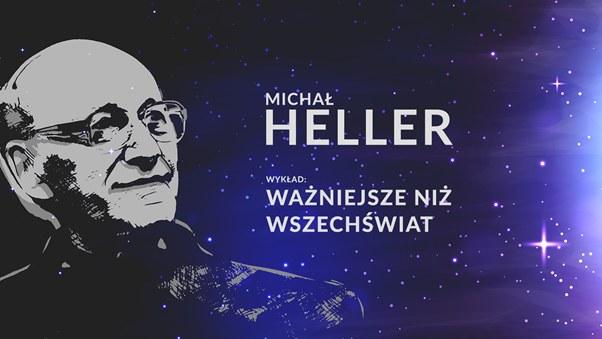 Transmisja z wykładu Michała Hellera w poniedziałek 29 października na stronie głównej Interii /