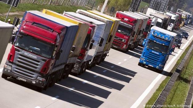 Transport drogowy w Niemczech zdominowała konkurencja z Polski, Czech i Rumunii /Deutsche Welle