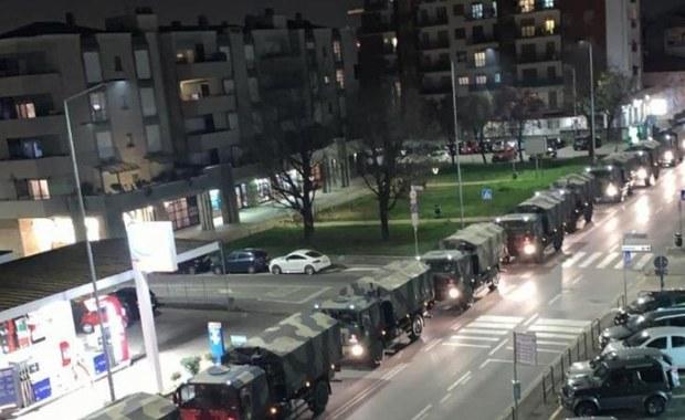 Transport grozy w Bergamo. Krematoria nie nadążają z pracą, trumny z ciałami zmarłych wywożą ciężarówki