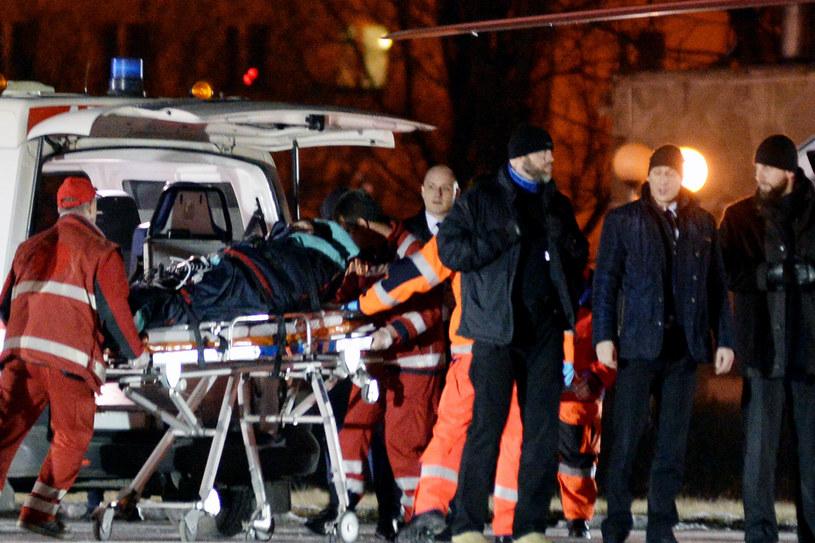 Transport LPR poszkodowanej po wypadku premier Beaty Szydlo /Łukasz Kalinowski /East News