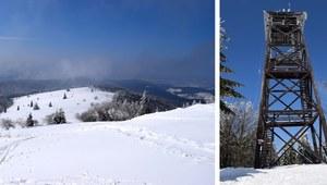 Trasa biegowa na szczyt Mogielicy. Cel: wieża