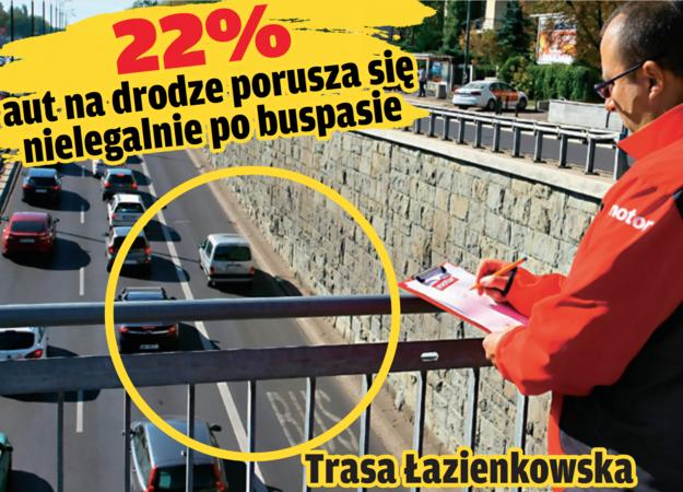 trasa łazienkowska /Motor