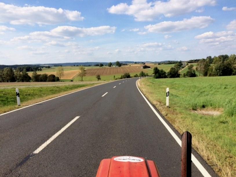 Trasa liczy 1700 kilometrów i wiedzie z Jaworzna do Lisieux /źródło: Wspólnota Betlejem /