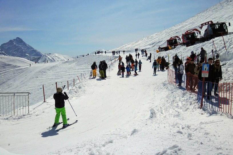 Trasa narciarska z Kasprowego Wierchu do Doliny Gąsienicowej. /Adrian Gładecki /East News