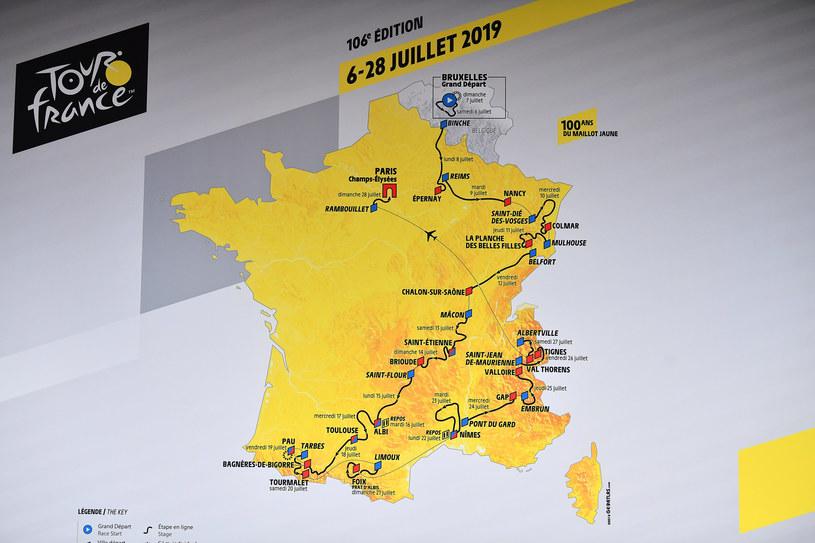 Trasa Tour de France 2019 /Justin Setterfield /Getty Images
