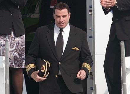 Travolta-pilot pomagał już w 2005 roku ofiarom huraganu Katrina /Splashnews