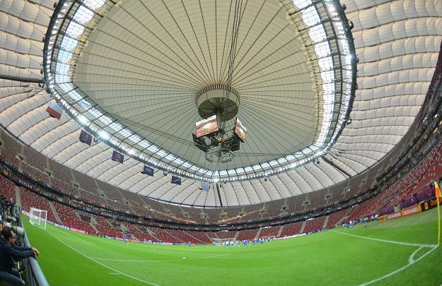 Trawa na Stadionie Narodowym zmienia się szybciej niż pory roku /AFP