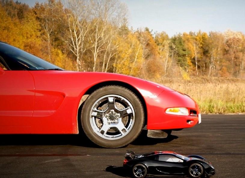 TRAXXAS vs Corvette /materiały prasowe