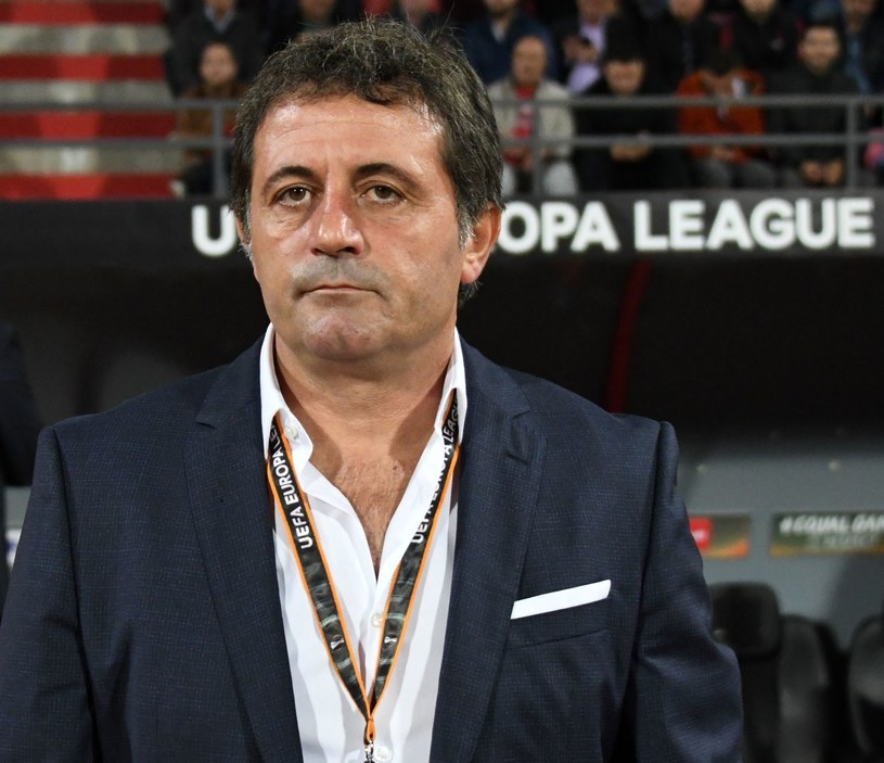Trener Albańczyków, Ilir Daja /AFP