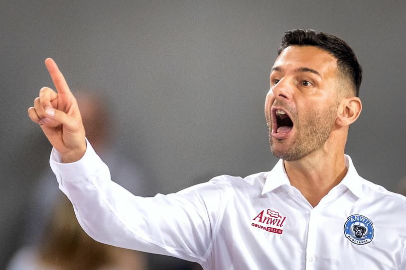 Trener Anwilu Włocławek Igor Milicić / Tytus Żmijewski    /PAP
