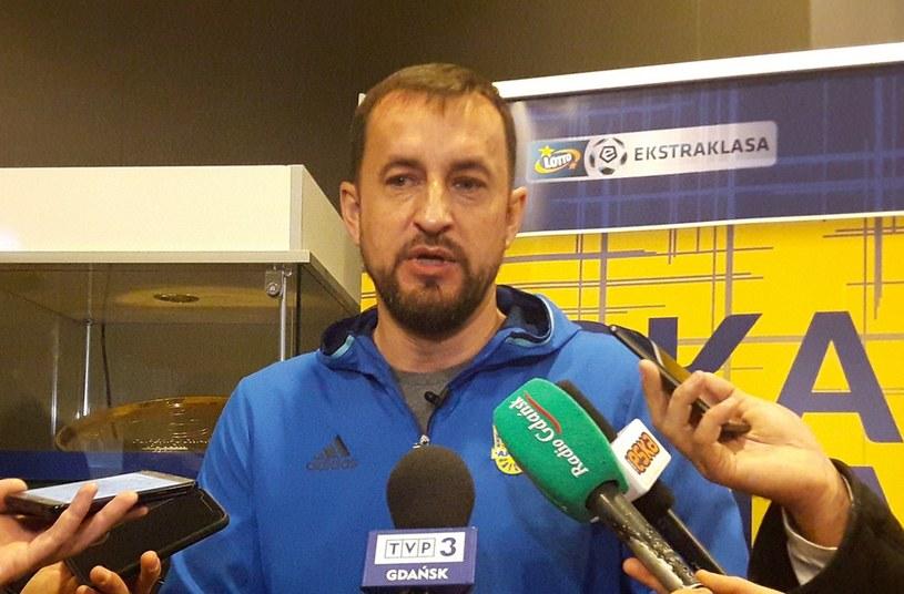 Trener Arki Zbigniew Smółka /Łukasz Razowski /INTERIA.PL