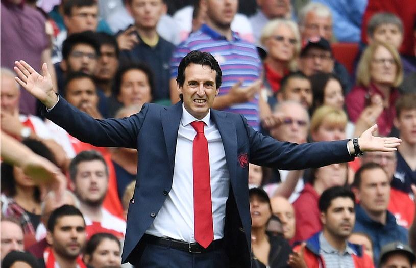 Trener Arsenalu Londyn Unai Emery /PAP/EPA