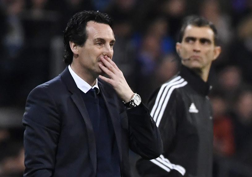 Trener Arsenalu Unai Emery /AFP
