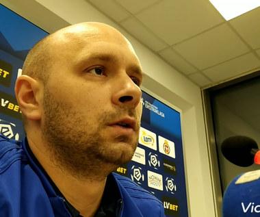 Trener Artur Skowronek (Wisła Kraków) ocenia grę ŁKS-u. Wideo