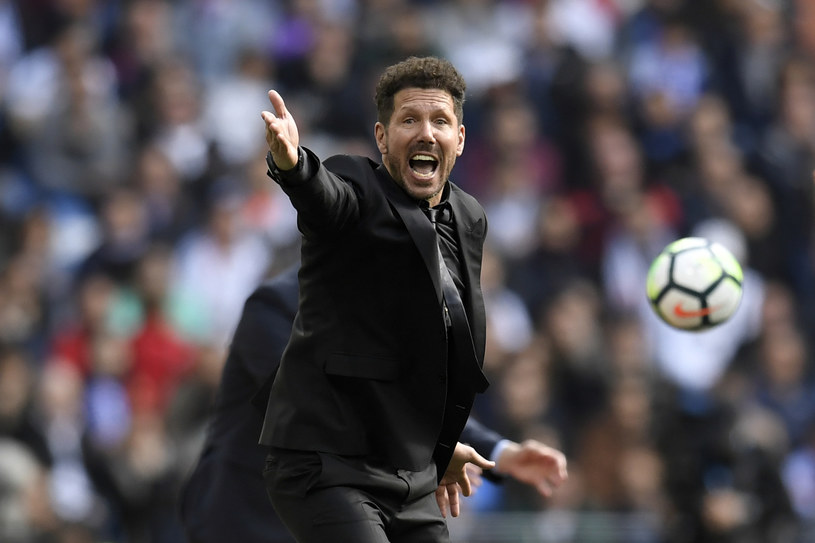 Trener Atletico Madryt Diego Simeone /AFP