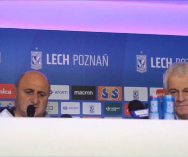 Trener Barsegjan po meczu Lech - Gandzasar. Wideo