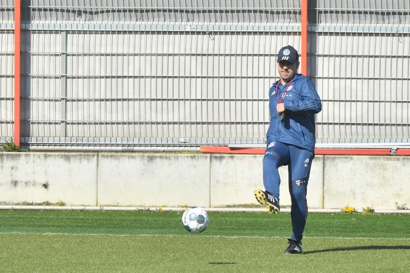 Trener Bayernu Hansi Flick /Sebastian Widmann/Bongarts /Getty Images