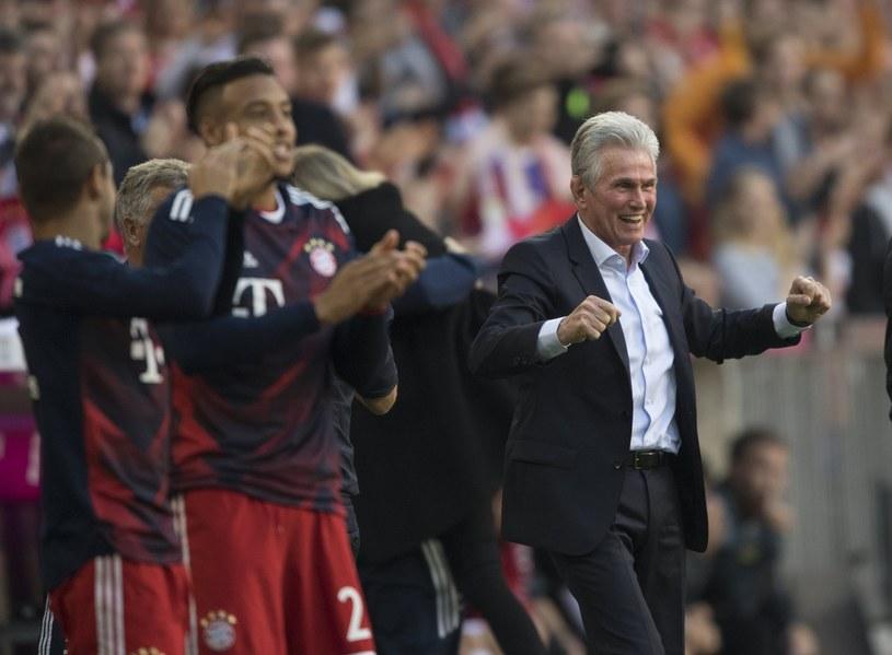 Trener Bayernu Monachium Jupp Heynckes /PAP/EPA