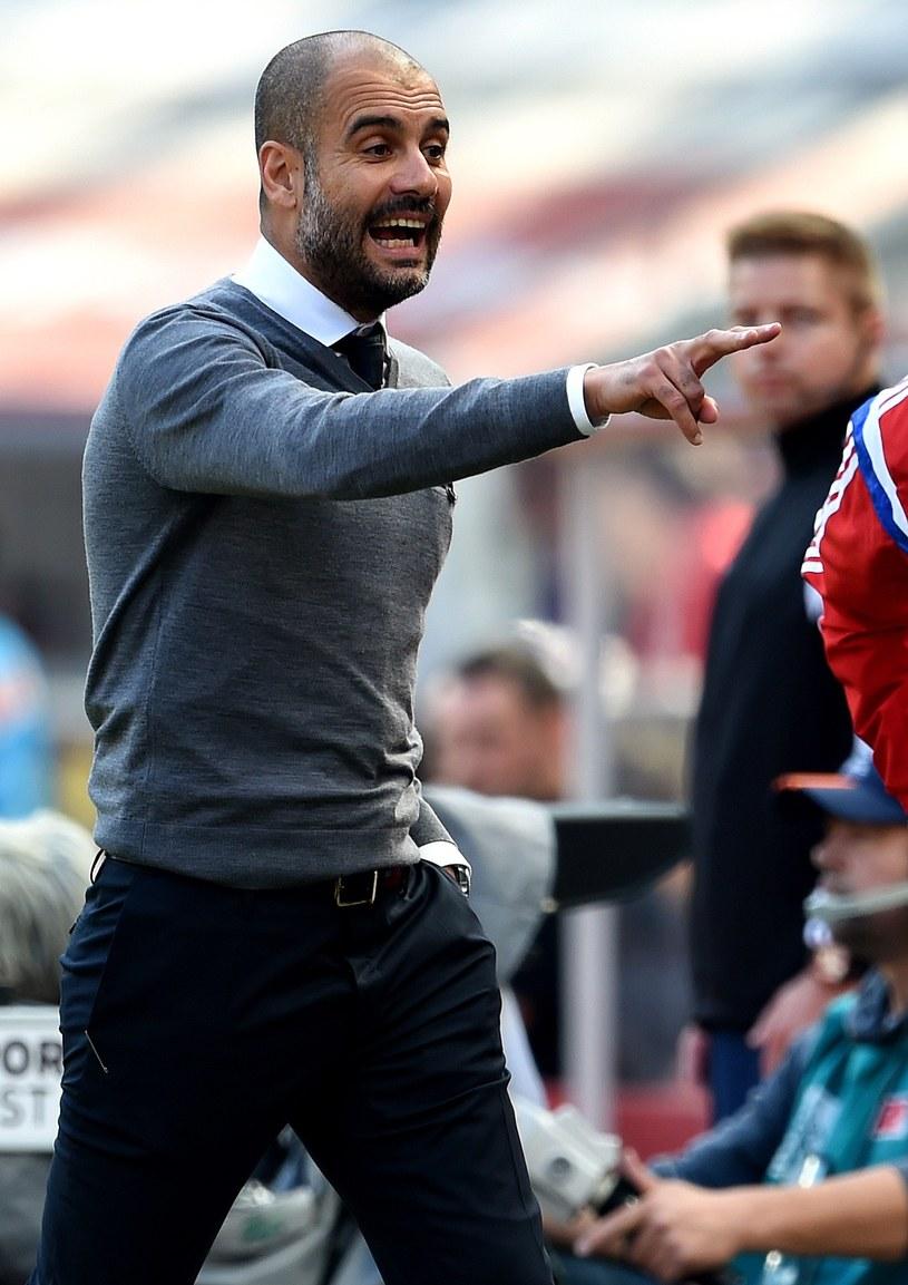 Trener Bayernu Monachium Pep Guardiola /AFP