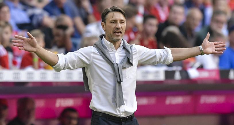 Trener Bayernu Niko Kovacz /AFP
