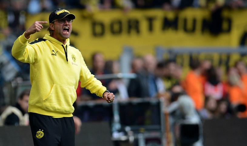 Trener Borussii Dortmund Juergen Klopp /AFP