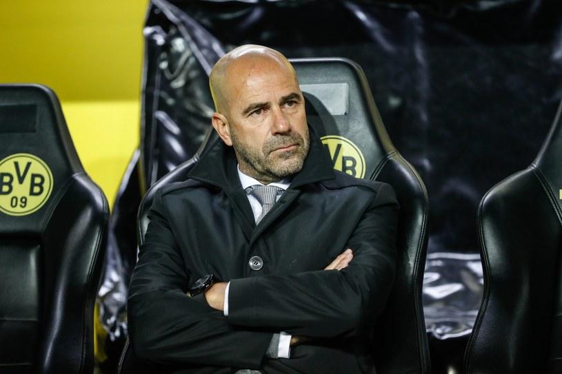 Trener Borussii Dortmund Peter Bosz /PAP/EPA