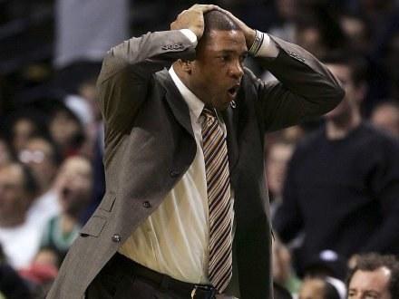 Trener Boston Celtics Doc Rivers /AFP