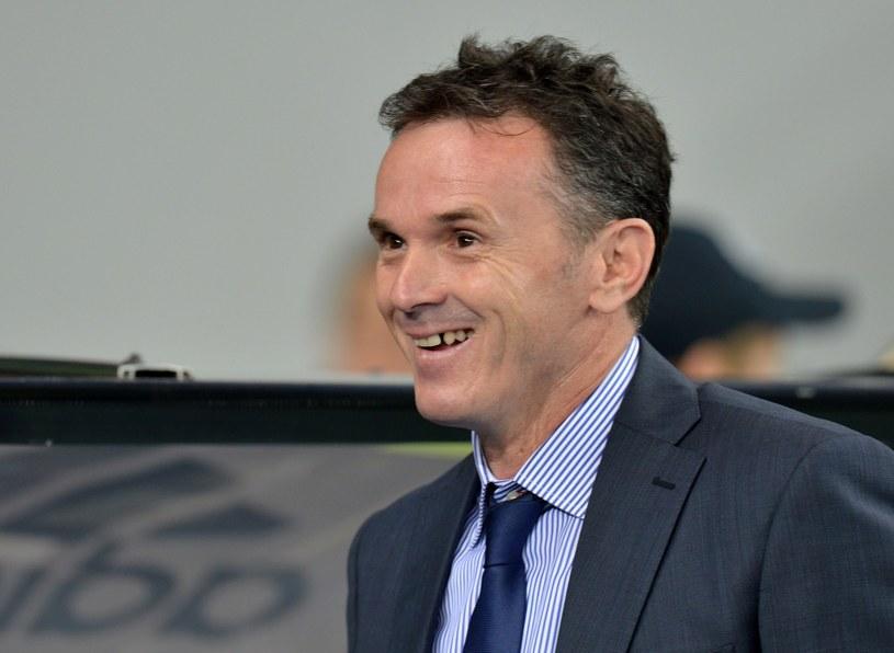 Trener Branko Brnović /AFP