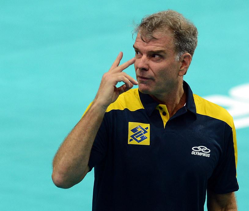 Trener Brazylijczyków Bernardo Rezende /AFP