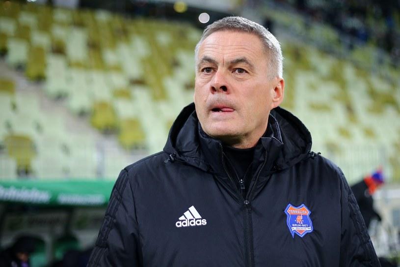 Trener Bruk-Betu Termaliki Jacek Zieliński /Fot. Piotr Matusewicz /East News