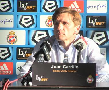 Trener Carrillo o meczu z Legią. Wideo