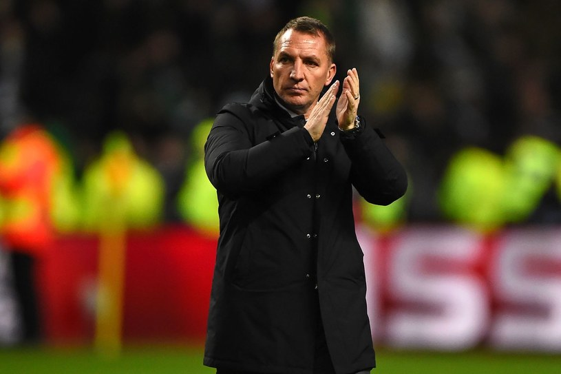 Trener Celticu Brendan Rodgers /AFP