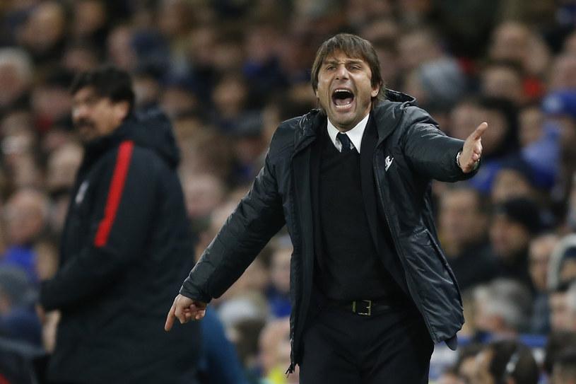 Trener Chelsea Londyn Antonio Conte /AFP
