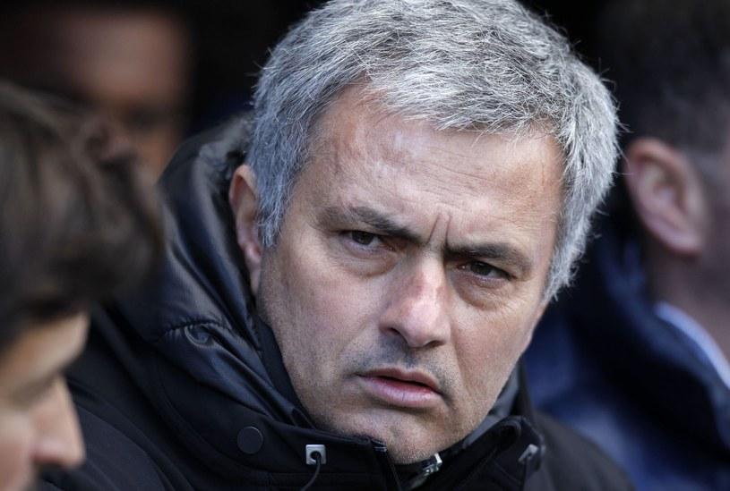 Trener Chelsea Londyn Jose Mourinho /AFP