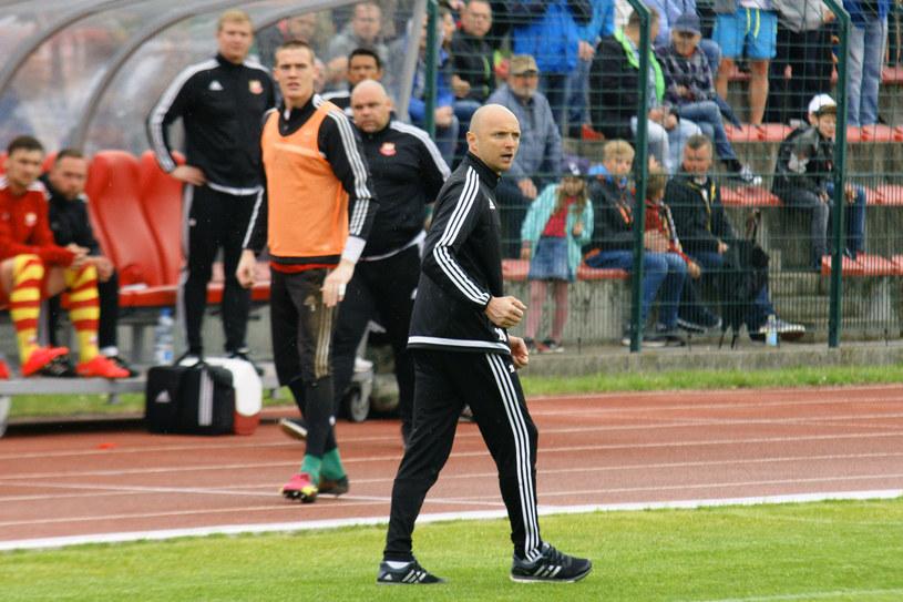 Trener Chojniczanki - Artur Derbin /Mateusz Bosiacki /Newspix